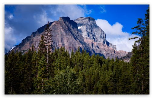 Download Canadian Rockies Mountains UltraHD Wallpaper