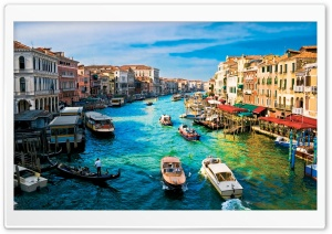 Canal Grande Venice Ultra HD Wallpaper for 4K UHD Widescreen desktop, tablet & smartphone