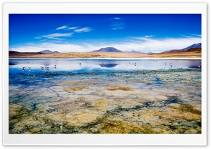 Canapa Lake, Bolivia HD Ultra HD Wallpaper for 4K UHD Widescreen desktop, tablet & smartphone