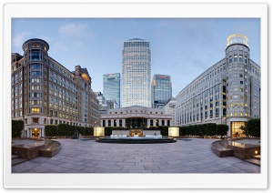 Canary Wharf London HD Wide Wallpaper for Widescreen