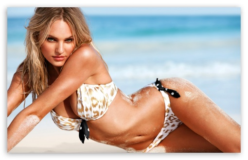 Candice Swanepoel Victorias Secret Model Ultra Hd Desktop