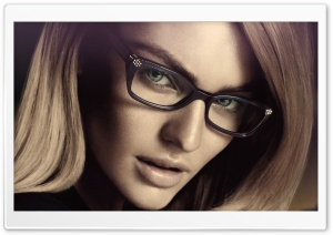 Candice Swanepoel Glasses HD Wide Wallpaper for Widescreen