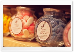 Candies Jar HD Wide Wallpaper for Widescreen