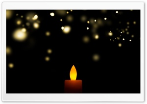 Candle Ultra HD Wallpaper for 4K UHD Widescreen desktop, tablet & smartphone