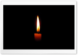 Candle HD Wide Wallpaper for Widescreen