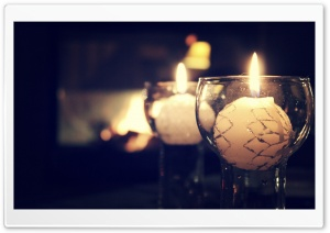 Candles HD Wide Wallpaper for Widescreen