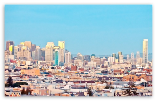 Candy Coated San Francisco HD wallpaper for Standard 4:3 5:4 ...