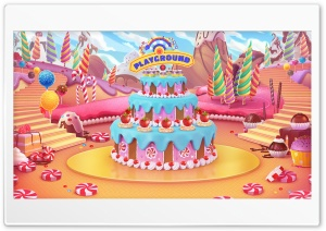 Candy World Ultra HD Wallpaper for 4K UHD Widescreen desktop, tablet & smartphone