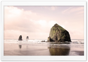 Cannon Beach HD Wide Wallpaper for 4K UHD Widescreen desktop & smartphone