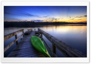 Canoe Boat HD Wide Wallpaper for Widescreen