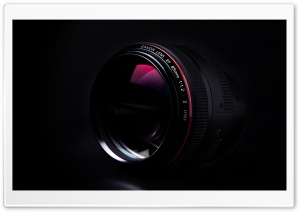 Canon 85mm 1.2L II HD Wide Wallpaper for Widescreen