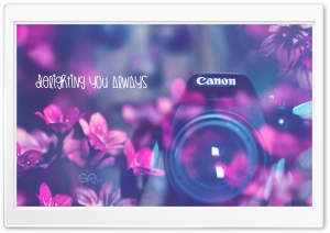Canon Delighting You Always HD Wide Wallpaper for Widescreen