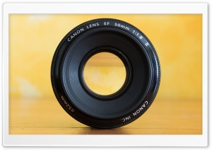Canon EF 50 1.8II HD Wide Wallpaper for Widescreen