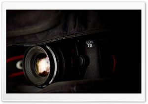 Canon EOS 7D Camera HD Wide Wallpaper for Widescreen