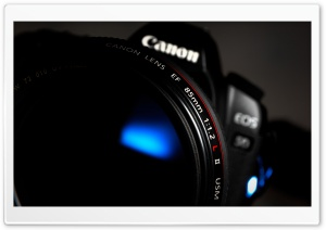 Canon Lens HD Wide Wallpaper for Widescreen