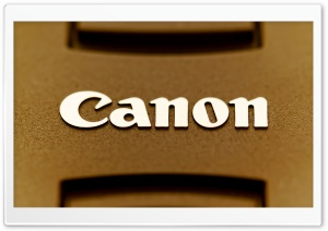 Canon Lens Cap HD Wide Wallpaper for Widescreen