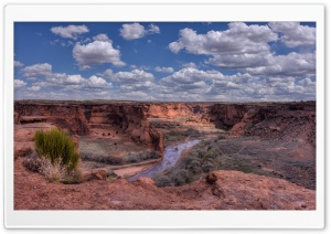Canyon de Chelly National Monument, Arizona HD Wide Wallpaper for 4K UHD Widescreen desktop & smartphone