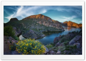 Canyon Lake HD Wide Wallpaper for Widescreen