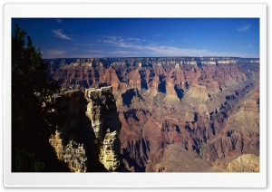 Canyon Panoramic View HD Wide Wallpaper for Widescreen