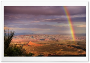 Canyon Rainbow HD Wide Wallpaper for Widescreen