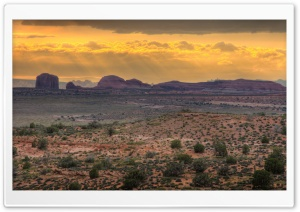 Canyonlands Sunset HD Wide Wallpaper for 4K UHD Widescreen desktop & smartphone