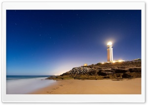 Cape Trafalgar Lighthouse HD Wide Wallpaper for 4K UHD Widescreen desktop & smartphone