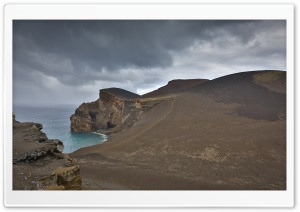 Capelinhos Volcano, Faial Island, Azores HD Wide Wallpaper for 4K UHD Widescreen desktop & smartphone