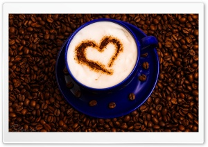 Cappuccino HD Wide Wallpaper for Widescreen