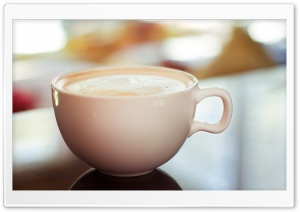 Cappuccino Cup Ultra HD Wallpaper for 4K UHD Widescreen desktop, tablet & smartphone