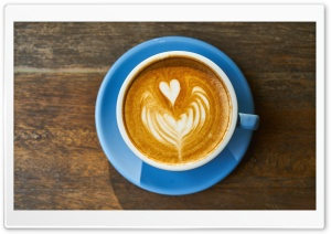 Cappuccino Love HD Wide Wallpaper for Widescreen