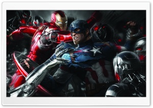 Captain America 3 HD Wide Wallpaper for 4K UHD Widescreen desktop & smartphone