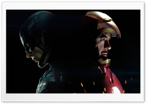 Captain America 3 Civil War Iron Man HD Wide Wallpaper for Widescreen