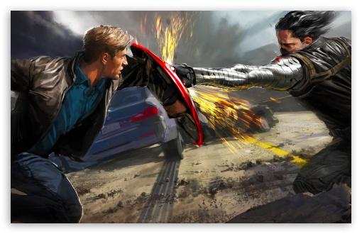 Captain America The Winter Soldier Wallpaper: The Winter Soldier 4K HD Desktop