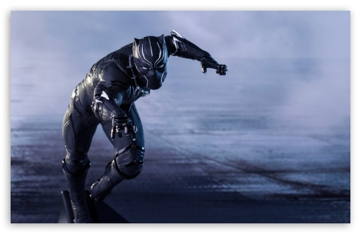 Captain America Civil War Black Panther Ultra Hd Desktop
