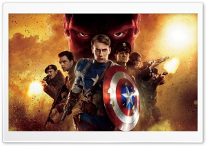 Captain America Movie HD Wide Wallpaper for Widescreen