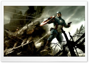 Captain America The First Avenger HD Wide Wallpaper for Widescreen