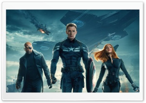Captain America The Winter Soldier 2014 Movie HD Wide Wallpaper for Widescreen