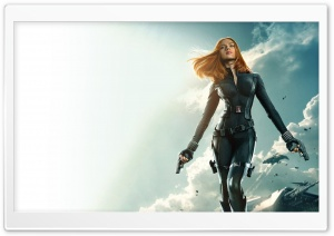 Captain America The Winter Soldier Black Widow 1080p HD Wide Wallpaper for Widescreen
