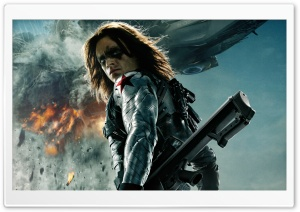 Captain America The Winter Soldier Bucky HD Wide Wallpaper for 4K UHD Widescreen desktop & smartphone