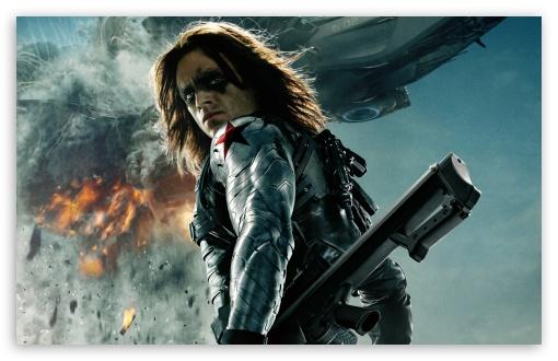 Captain America The Winter Soldier Bucky 4K HD Desktop ...