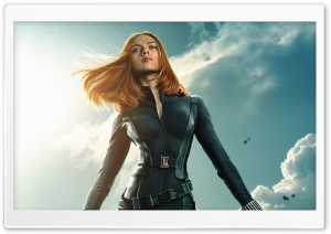 Captain America The Winter Soldier Scarlett Johansson 2014 HD Wide Wallpaper for Widescreen