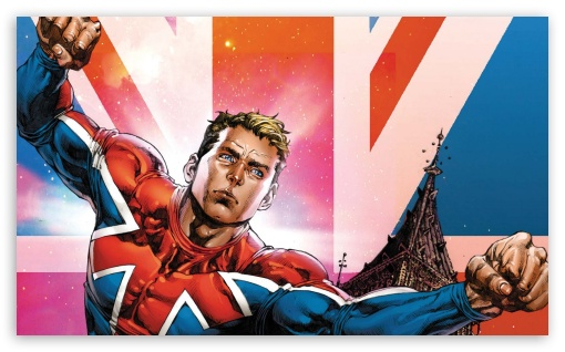Captain Britain ❤ 4K UHD Wallpaper for Wide 5:3 Widescreen WGA ; 4K UHD 16:9 Ultra High Definition 2160p 1440p 1080p 900p 720p ; Mobile 5:3 16:9 - WGA 2160p 1440p 1080p 900p 720p ;