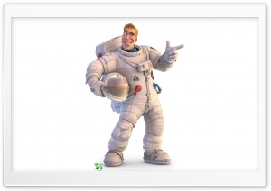 Captain Charles Chuck Baker Planet 51 Ultra HD Wallpaper for 4K UHD Widescreen desktop, tablet & smartphone