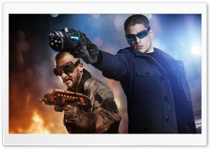 Captain Cold and Heat Wave HD Wide Wallpaper for Widescreen