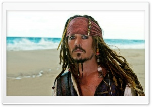 Captain Jack Sparrow   Pirates Of The Caribbean On Stranger Tides HD Wide Wallpaper for Widescreen