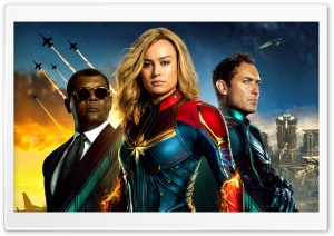 Captain Marvel 2019 Ultra HD Wallpaper for 4K UHD Widescreen desktop, tablet & smartphone