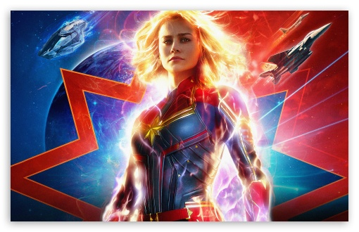 Captain Marvel 4k 5k Ultra Hd Desktop Background Wallpaper For 4k Uhd Tv Widescreen Ultrawide Desktop Laptop Tablet Smartphone