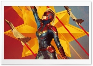 Captain Marvel movie 2019, Carol Danvers superhero Ultra HD Wallpaper for 4K UHD Widescreen desktop, tablet & smartphone