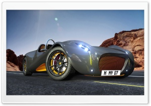 Car 3D HD Wide Wallpaper for Widescreen