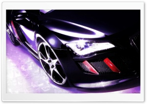 Car, Digital Art HD Wide Wallpaper for Widescreen